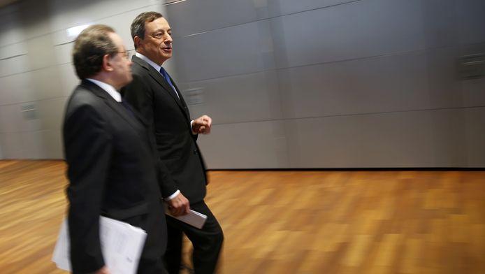Voorzitter van de Europese Centrale Bank (ECB), Mario Draghi.