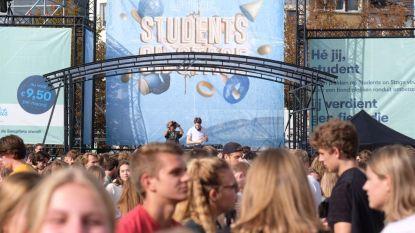 Studenten zetten nieuwe academiejaar feestelijk in