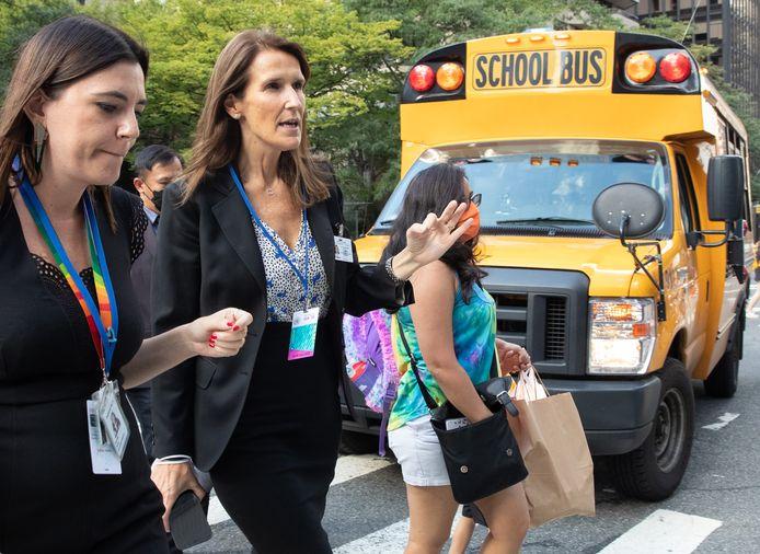 Minister van Buitenlandse Zaken Sophie Wilmès is momenteel in New York voor de algemene vergadering van de Verenigde Naties.
