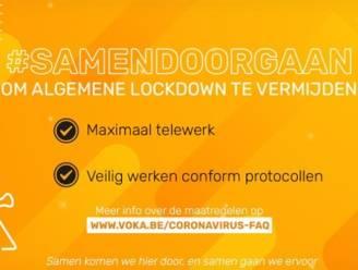 """Voka West-Vlaanderen roept ondernemingen op om maximaal te telewerken: """"Ook bedrijven moeten sneltests kunnen uitvoeren"""""""