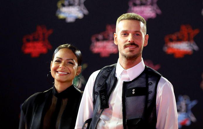 Christina Milian et Matt Pokora.