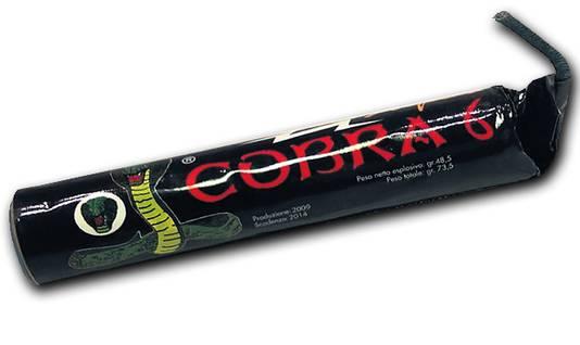 De Cobra 6 staat garant voor knallen die vergelijkbaar zijn met die van een granaat. De verwoestende werking is idem dito.