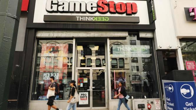 Kat-en-muisspel op Wall Street: GameStop is speelbal van beleggers die elkaar rauw lusten