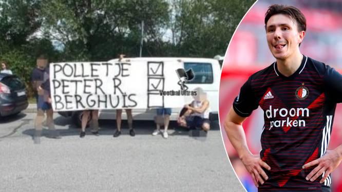 Feyenoord-Ultras bedreigen Steven Berghuis met misselijkmakend spandoek na overstap naar aartsrivaal Ajax