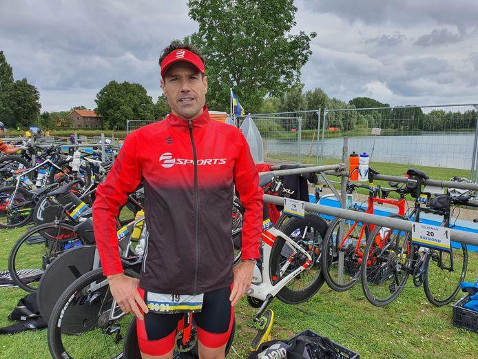 Bemmelnaar Dave Rost, trotse winnaar van de tweede Gelreman in Arnhem.