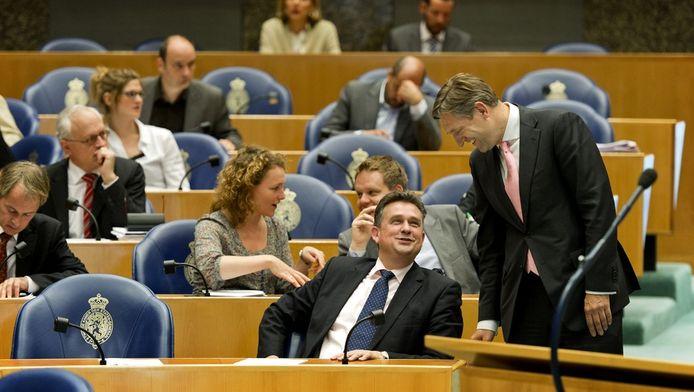 Roemer, met Buma in de Tweede Kamer