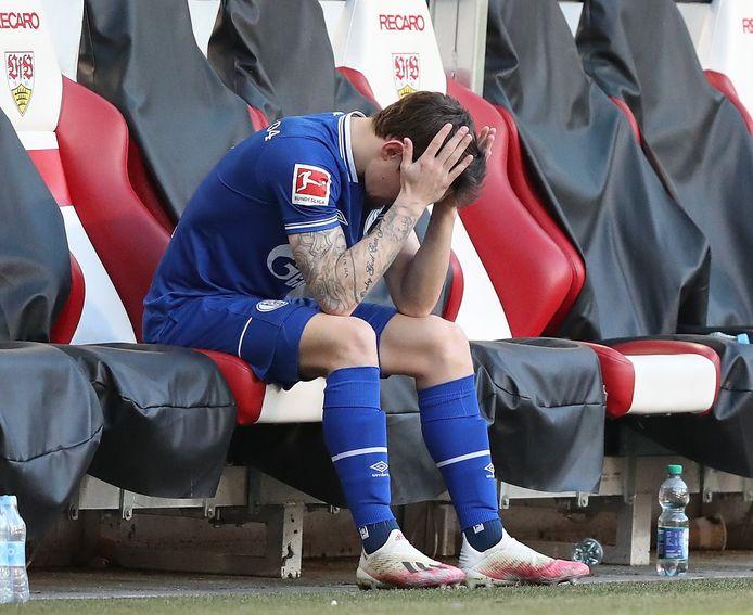 Ook Benito Raman kon niet voorkomen dat Schalke na 30 jaar degradeert uit de Bundesliga.