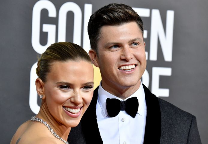 Scarlett Johansson en echtgenoot Colin Jost.