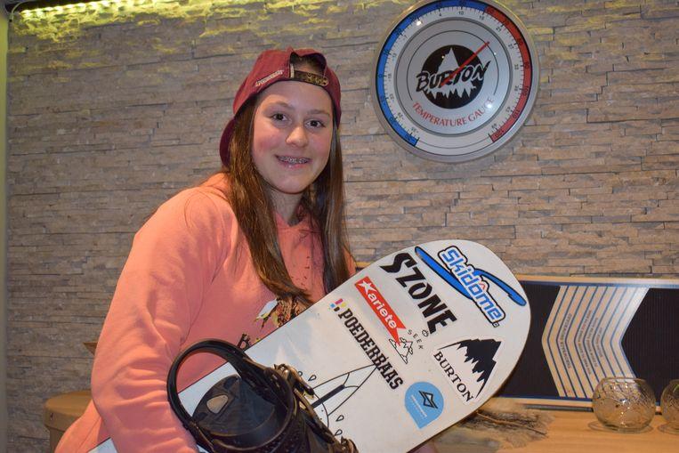 Evy Poppe is nu al de leading lady van de Belgische wintersport.