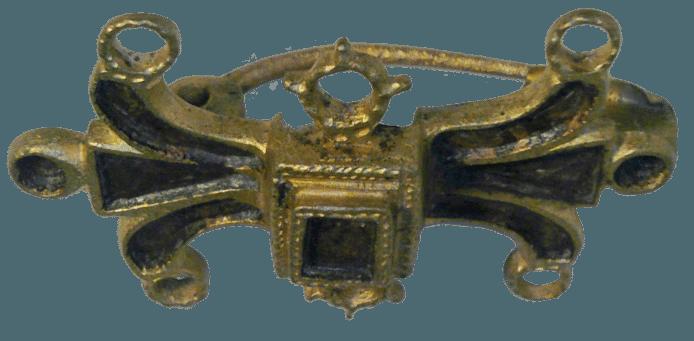 Romeinse mantelspeld.