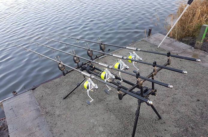 Uit de garagebox van David Debeuf uit Wervik werd voor meer dan 10.000 euro aan materiaal gestolen dat hij gebruikt bij z'n passie: sportvissen.