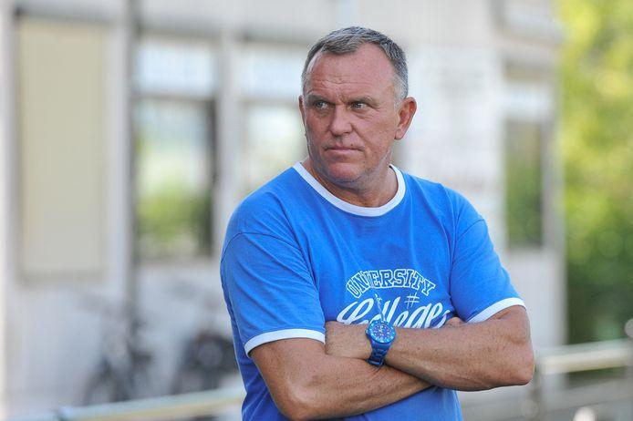 Geert Broeckaert is reeds een viertal seizoenen aan de slag bij SV Rumbeke.