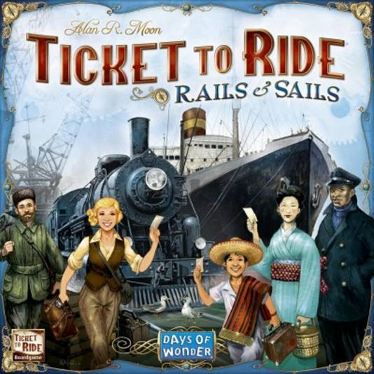 Ticket to Ride is een populair spel