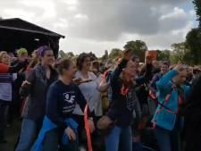 Tienduizenden leraren voeren actie in Den Haag