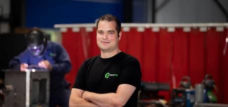 Johan Vissers uit Netersel heeft typisch klein lasbedrijf: 'En Máxima vond het ook leuk'