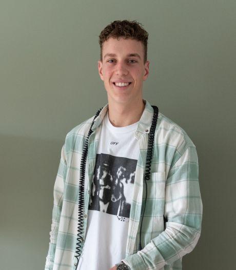 Hidde (19) timmert hard aan de weg als DJ en producer, hij laat nu zelfs een eigen studio bouwen