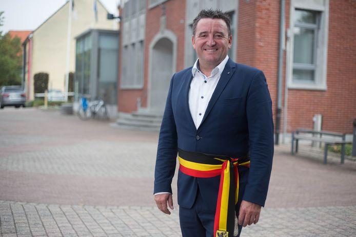 Burgemeester en quizmaster Jan Dalemans.