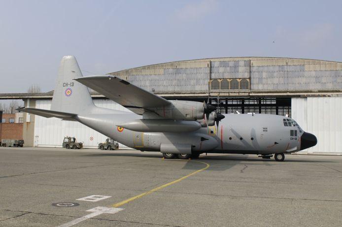 De C-130 CH13 verlaat maandag Melsbroek en krijgt een definitieve rustplaats in Bevekom.
