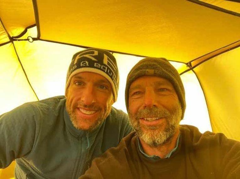 Dixie Dansercoer en Seb Audy. Beeld Instagram/Polar Expedition