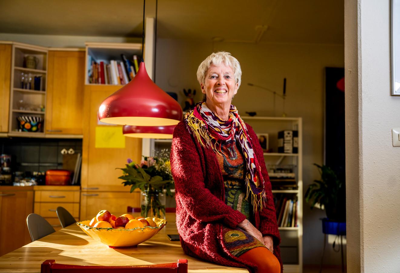 Yolande de Gorter uit Krimpen aan den IJssel maakt zich hard voor een Knarrenhof in haar gemeente. Foto: Frank de Roo