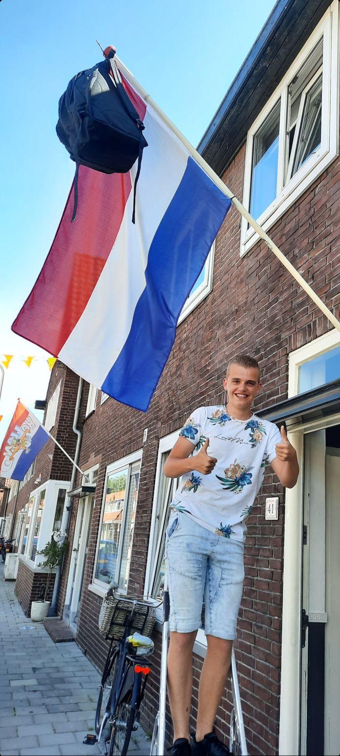 Jesper Pijpers uit Gouda is geslaagd!
