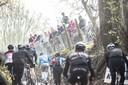De Ronde voor Wielertoeristen op de Koppenberg in Oudenaarde.