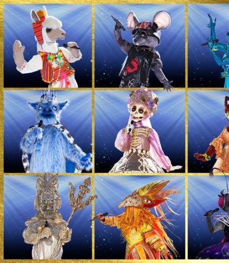 Dit zijn alle karakters van The Masked Singer 2020