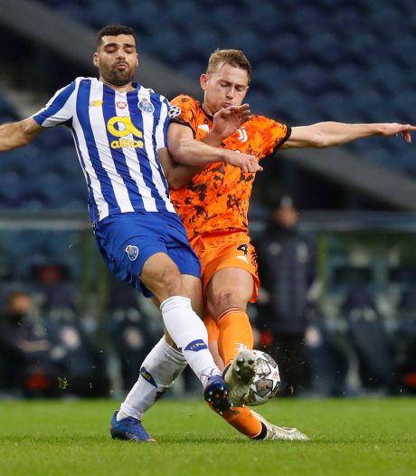 De Ligt en ongeïnspireerd Juve lijden nederlaag met perspectief bij FC Porto