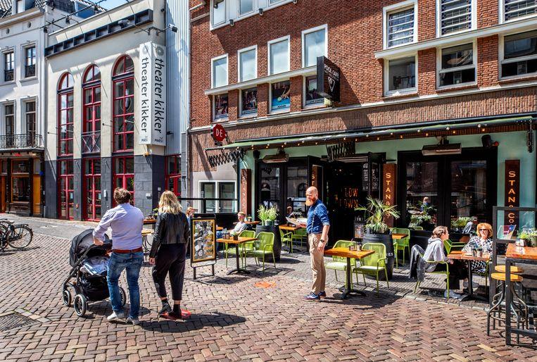 Veel Nederlanders gaven weinig uit in de lockdowns. Beeld Raymond Rutting / de Volkskrant