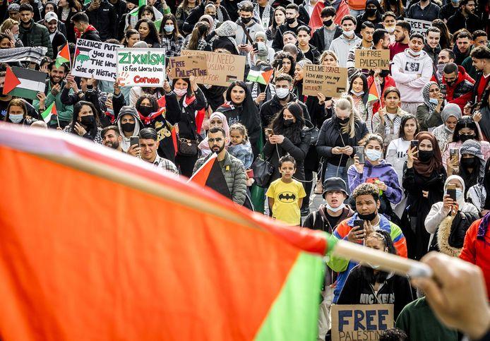 In Utrecht vond eerder deze week al een pro-Palestina-demonstratie plaats.