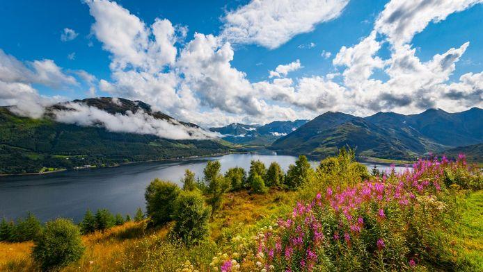 Loch Duich in Schotland