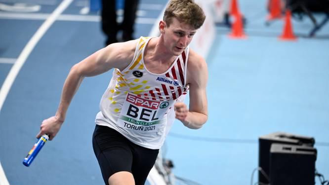 """Alexander Doom met Belgian Tornados vierde op EK 4x400m: """"Verrekking na 200m verstoorde mijn race"""""""