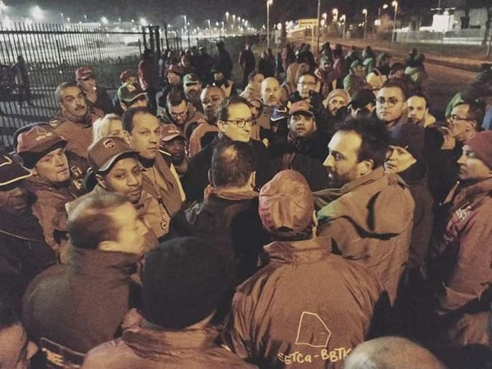 Bij UPS in Diegem werd vorig jaar bekendgemaakt dat 94 werknemers hun job zouden verliezen. De werknemers gingen toen zelfs aan de hoofdzetel in Eindhoven protesteren.