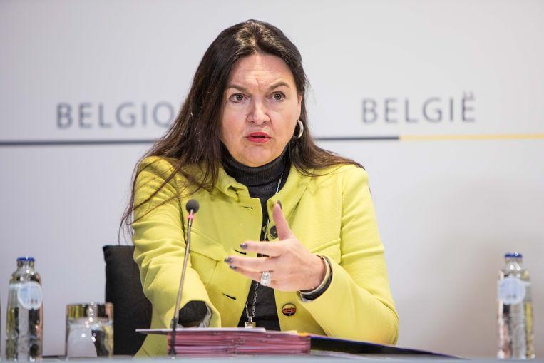 Met de verkiezingen voor de deur staat Marghem onder druk om haar groene inborst te tonen. Beeld BELGA