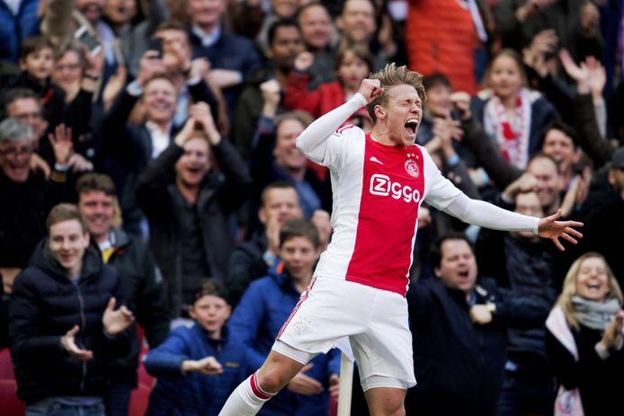 Viktor Fischer in zijn tijd bij Ajax.