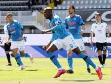Napoli legt druk weer bij Atalanta, Juve en AC Milan