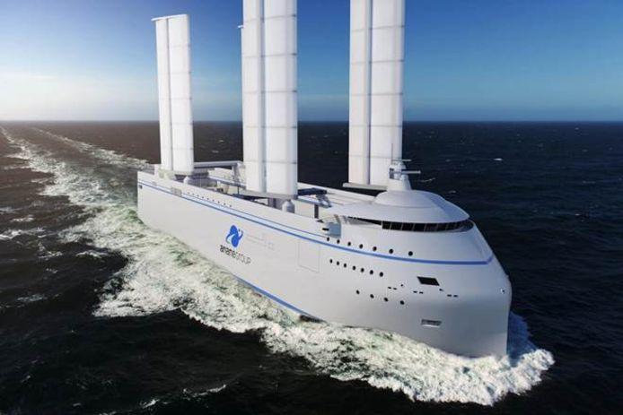 Hardinxvelds bedrijf bouwt futuristisch zeilschip voor raketten, de Canopée.