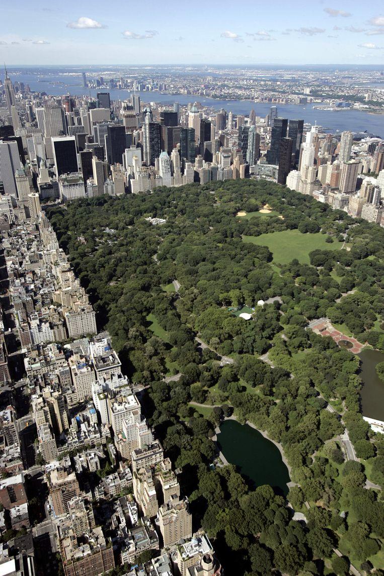 Een uitzicht op Central Park kunnen niet veel mensen zich veroorloven. Beeld AFP