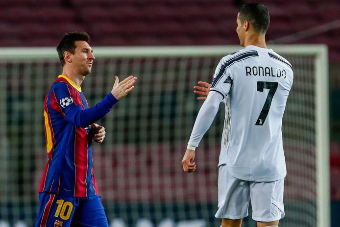 Lionel Messi tegen Cristiano Ronaldo was jarenlang dé rivalenstrijd in het voetbal.
