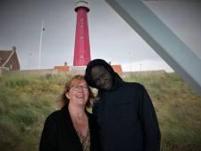 Sam uit Senegal waant zich op Scheveningen een heel klein beetje in Dakar