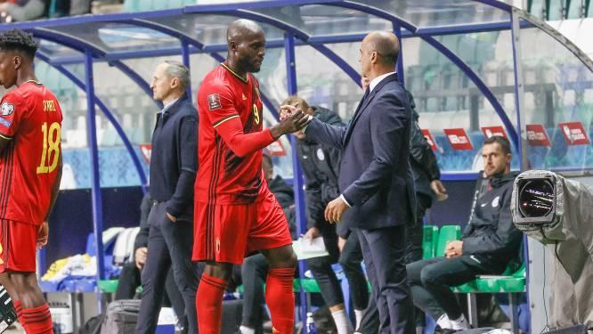 """Martínez: """"Lukaku is een legende van het Belgisch voetbal, zijn 100ste interland moet een groot feest worden"""""""