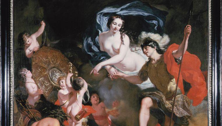 Gerard de Lairesse, Venus schenkt wapens aan Aeneas, 1668, olieverf op doek. Beeld