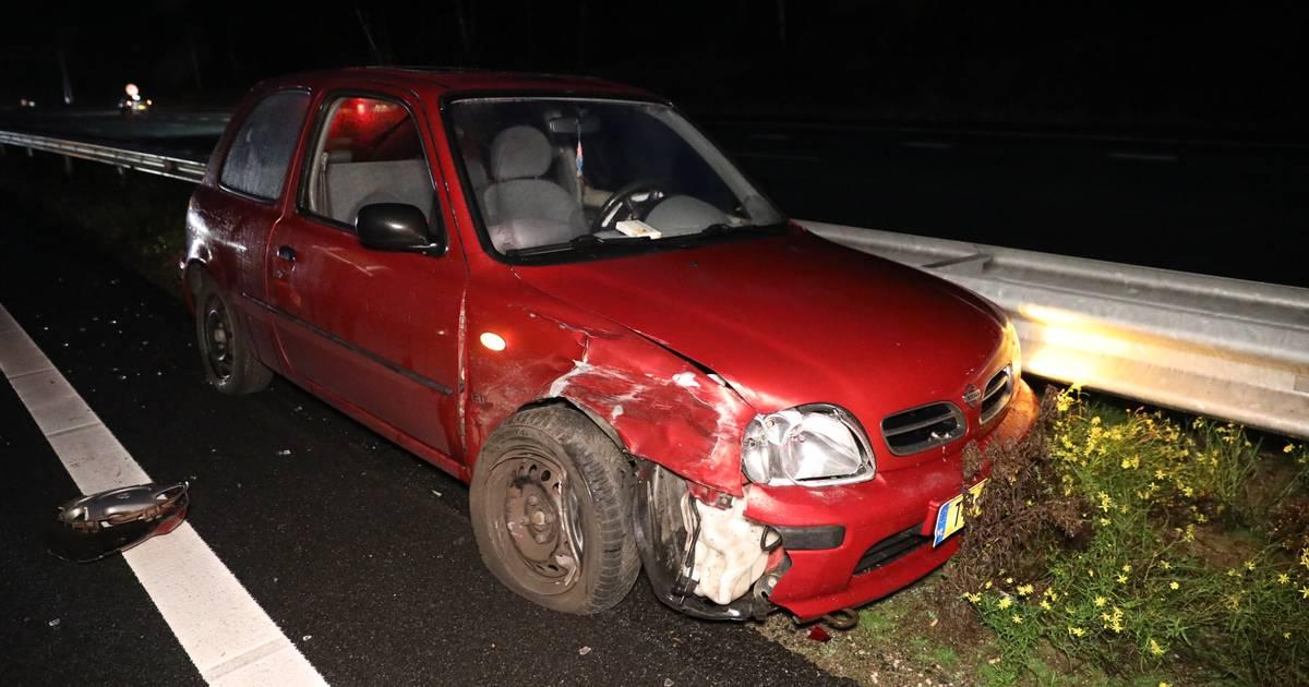 Weg weer vrij na ongeluk op A12 bij Ede.
