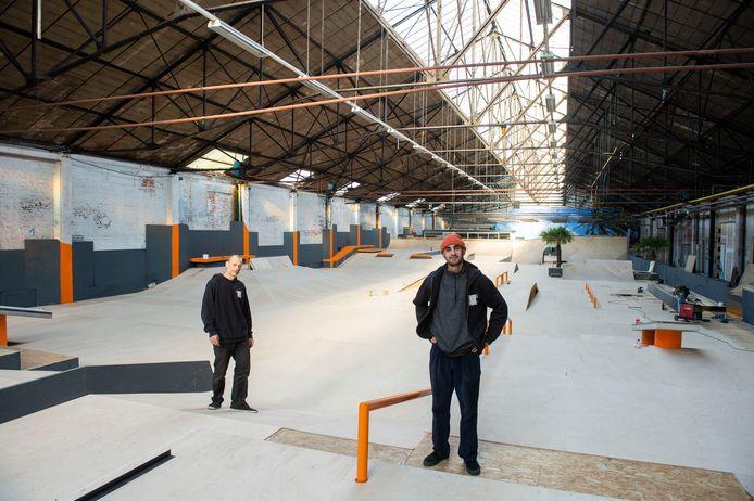 SBA Antwerpen is een walhalla voor skaters.