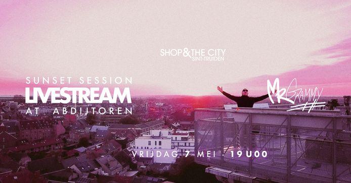 Shop & The City Sint-Truiden organiseert samen met DJ Mr Grammy een livestream op vrijdag om de heropening van de terrassen goed in te zetten.
