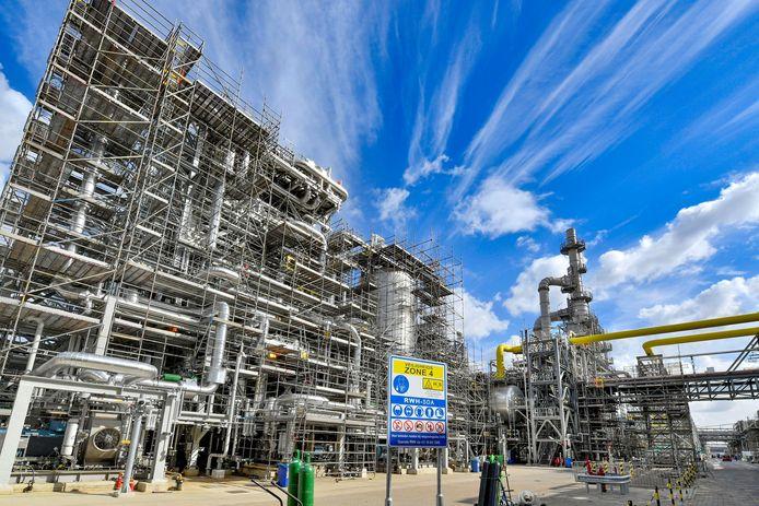 De uitbreiding van de Shell-raffinaderij is al in bedrijf. Vandaag werd de fabriek officieel ingebruikgenomen.