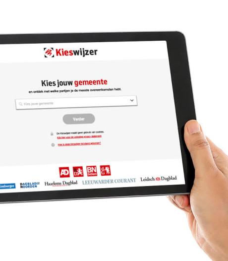 Brabants Dagblad Kieswijzer voor verkiezingen in West-Betuwe