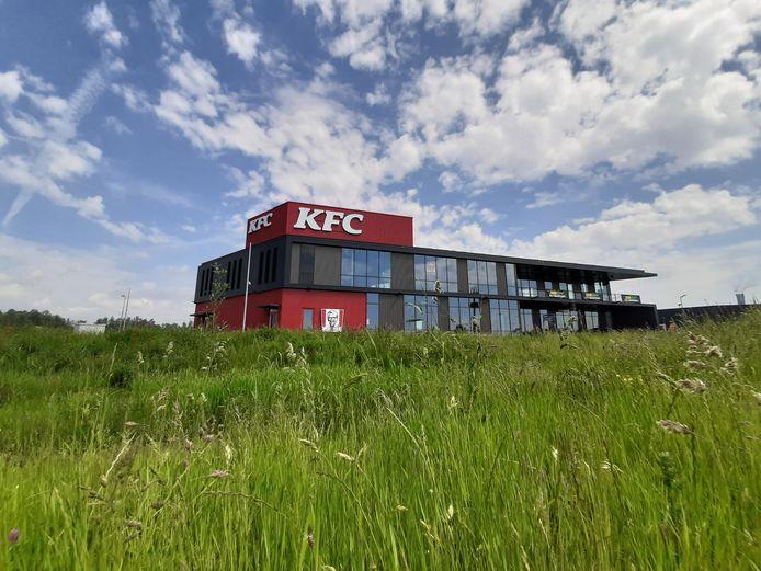 De nieuwe vestiging van KFC op bedrijventerrein Seingraaf in Duiven.