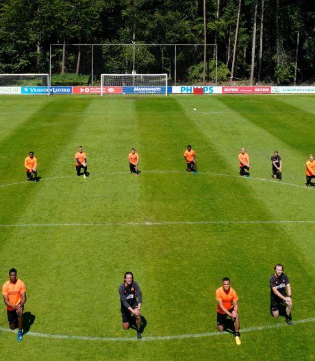 PSV gaat een dag 'op zwart' en keert zich tegen institutioneel racisme