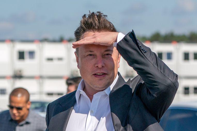Elon Musk, de CEO van autofabrikant Tesla en ruimtebedrijf SpaceX. Beeld EPA
